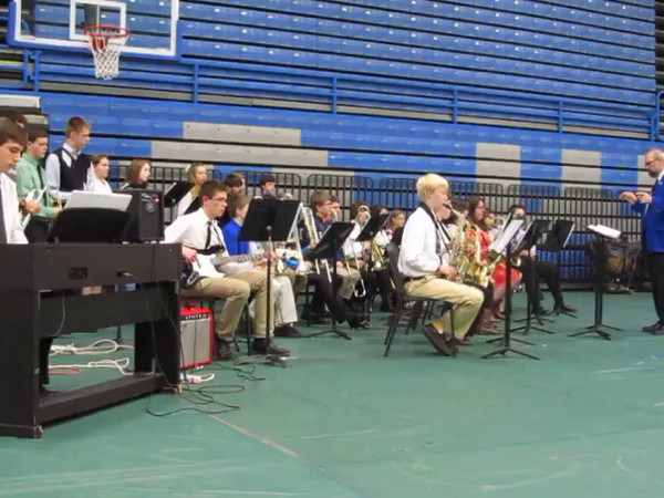 May 17, 2014. Chicken Barbecue. Royal Blue Jazz Band Chicken Barbecue AW Bands Concert, May 17, 2014