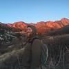 winter hike at south mesa