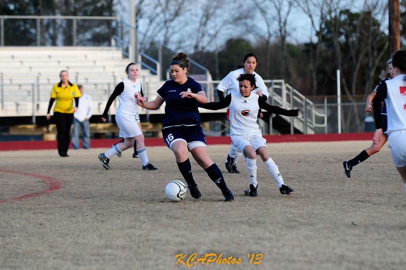 2013 SCS Soccer vs Clarksville JV  3-12-2013 6-52-14 PM Ashley