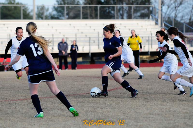 2013 SCS Soccer vs Clarksville JV  3-12-2013 6-52-15 PM Ashley