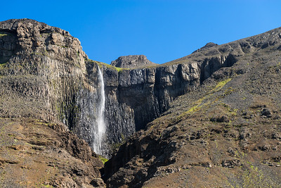 Basaltos columnares, cerca de Hóf í Vatnsdalur, Islandia