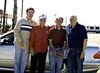 "Steve Glenn, ""Bakersfield Bobby"" Hernandez, Alf Taylor, and Denny Glenn"