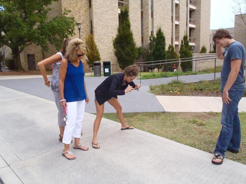 University of Arkansas Graduate Walk