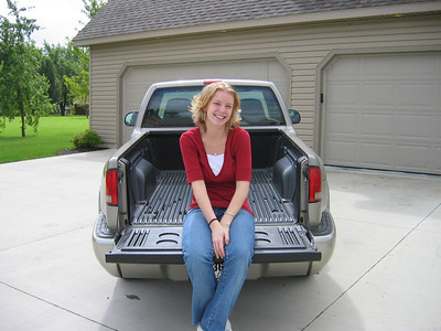 Brittany's new TRUCK!