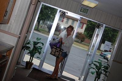 Sneaking in the front door