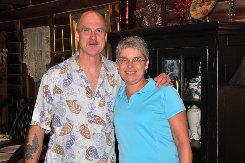 Dan and Marsha