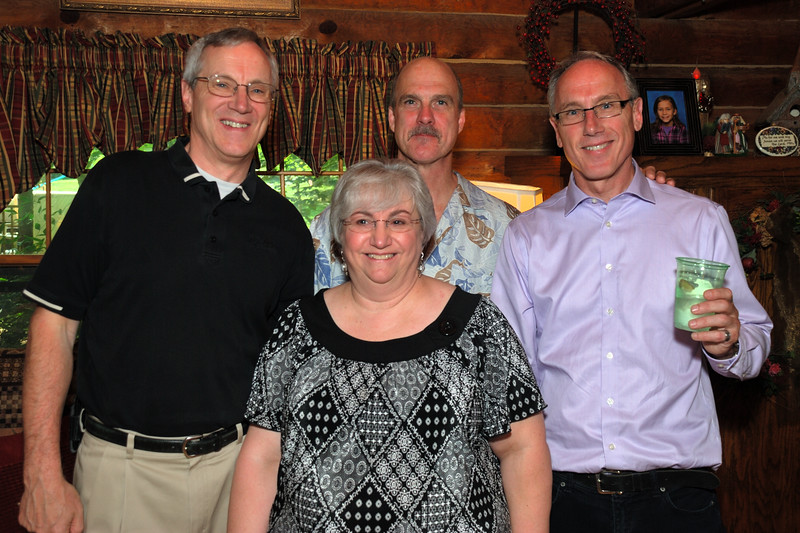 Richard, Karen, Dan and Don