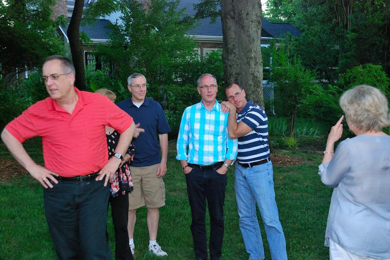 Nashville Gregory Choir Reunion at Gail's