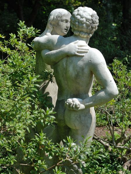 Adam and Eve Statue