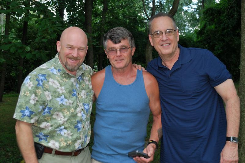 Rob, Dwight and Richard
