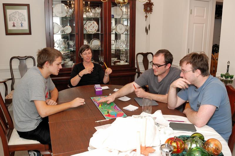 Calvin and Drew visit Daniel, Rob and Barb