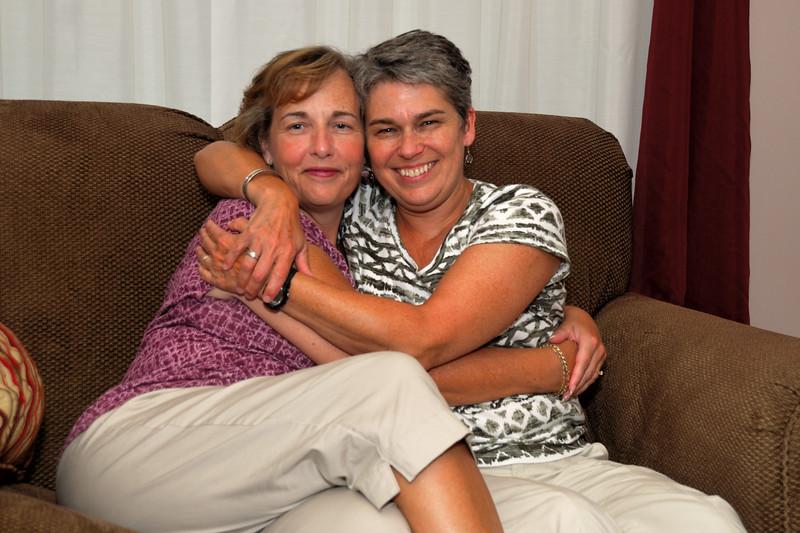 Susan and Marsha