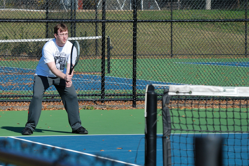 Tennis fun with family in Pinson during Thanksgiving visit