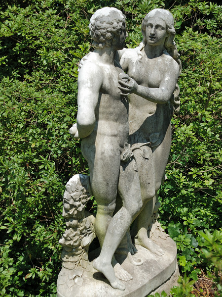 Adam and Eve Statue