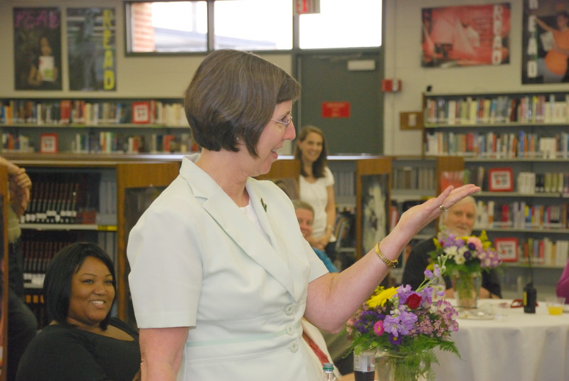 Barb's Retirement Reception at NGHS