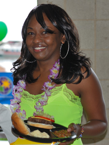 Cheryl Pitts Enjoys Lunch