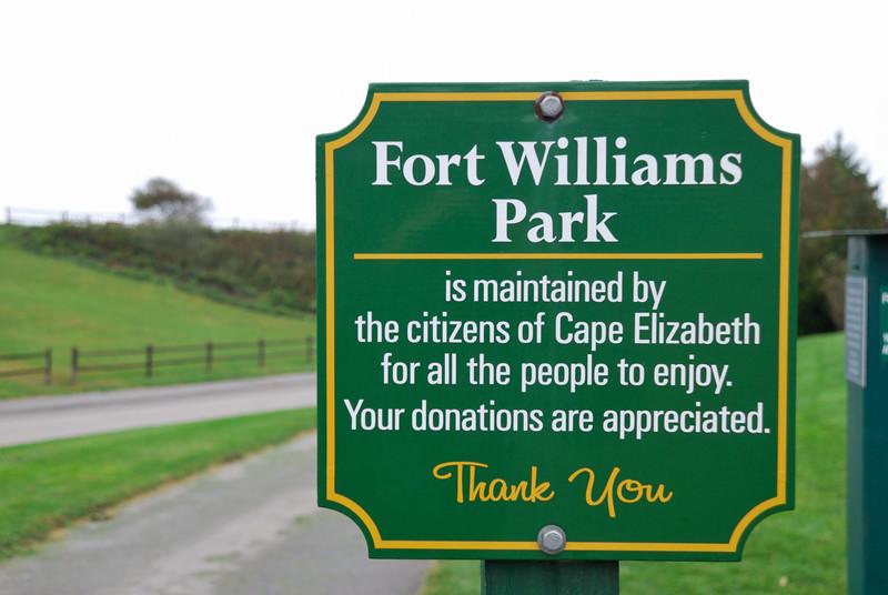 Portland Head Light and Fort Williams Park
