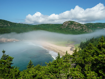Sand Beach - Acadia National Park, ME