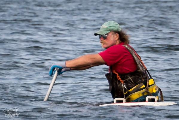 Crabbing in West Bay near Cotuit