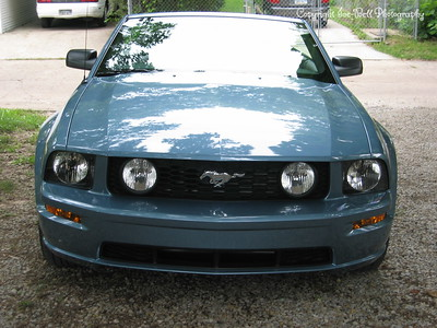 9/6/05  2006 Mustang GT Convertible  Taken with top down.