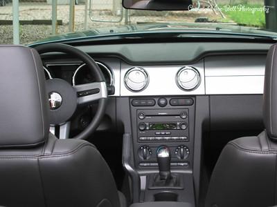 9/6/05  2006 Mustang GT Convertible  A little closer inside look