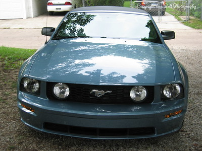 9/6/05  2006 Mustang GT Convertible  Taken with top up.