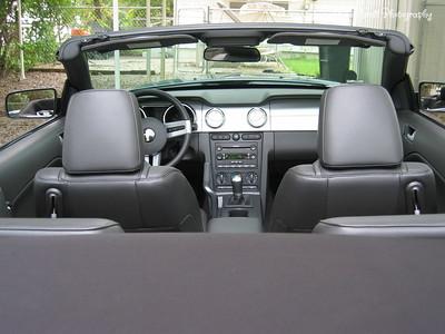 9/6/05  2006 Mustang GT Convertible  Inside Look