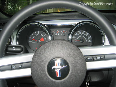 9/6/05  2006 Mustang GT Convertible  Close driver look