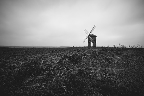 Fields leading to the Windmill