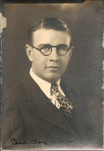 Cecil Clay Hilton (1940's?) [high resolution]