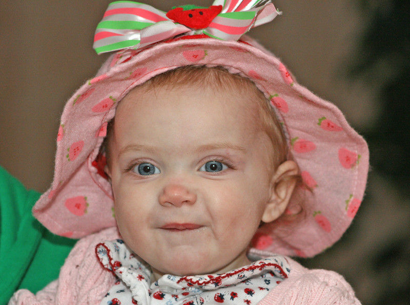 Our little Strawberry Shortcake!!!