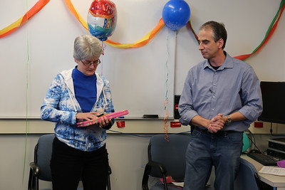 Carol Ufford's Retirement Party from the I&T Service Desk