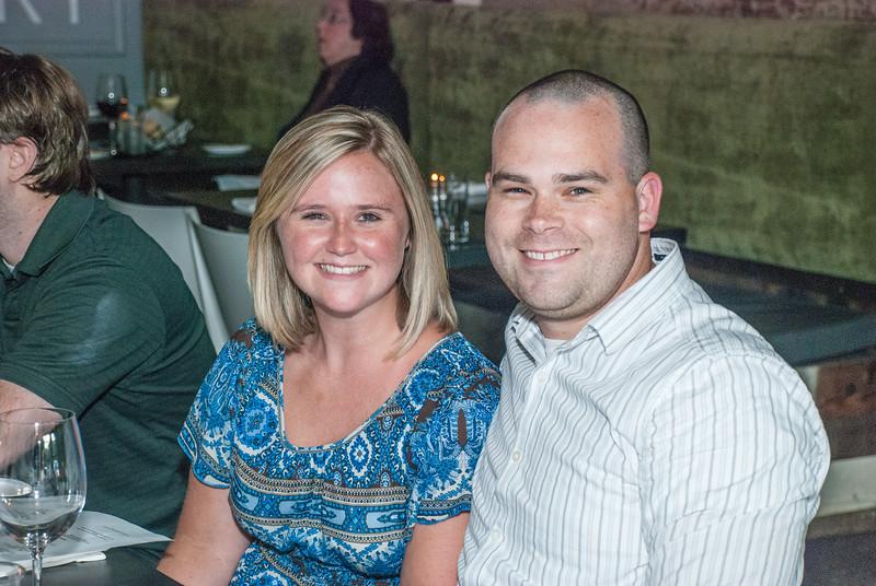 Scott and Frank's Wedding Dinnfer for Family