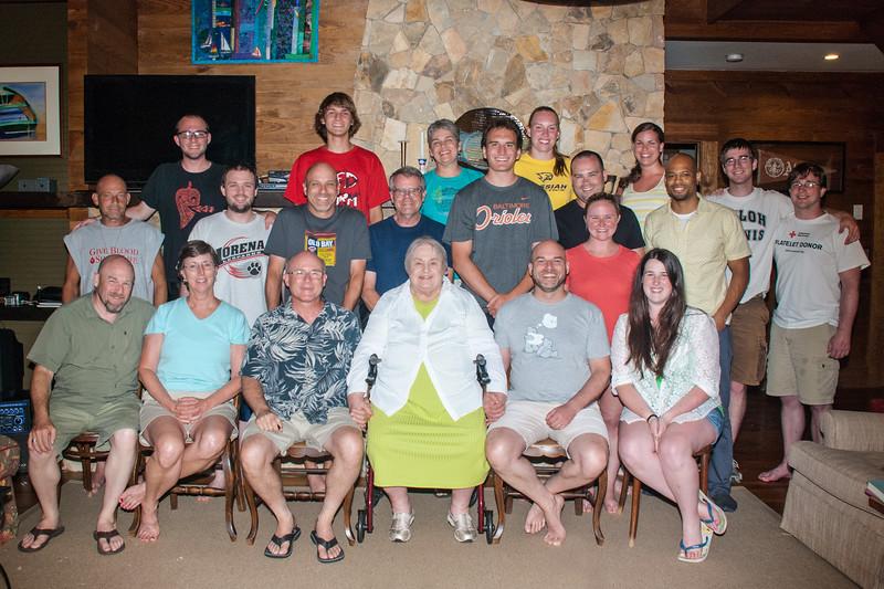 Keeney lake reunion