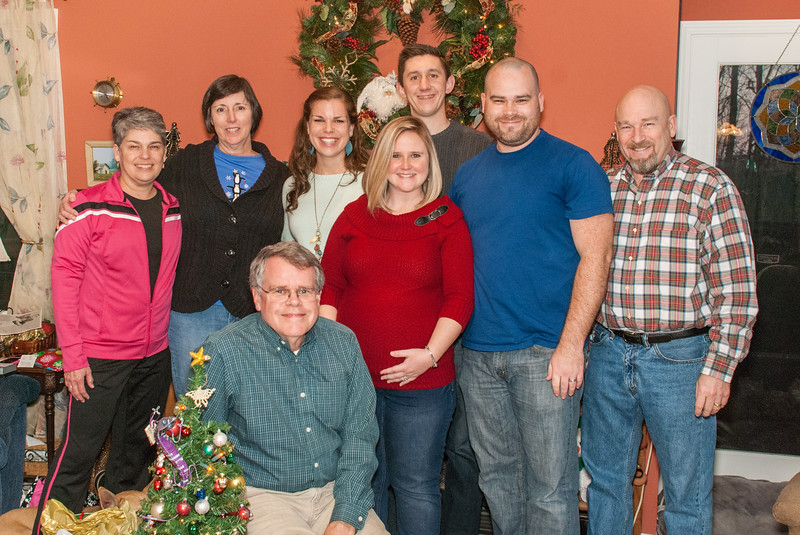 Keeneys and Hendersons at Christmas