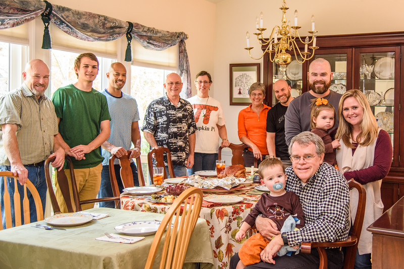 Thanksgiving with Family