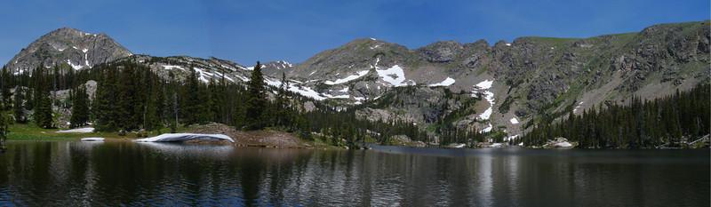 Jasper Lake panorama