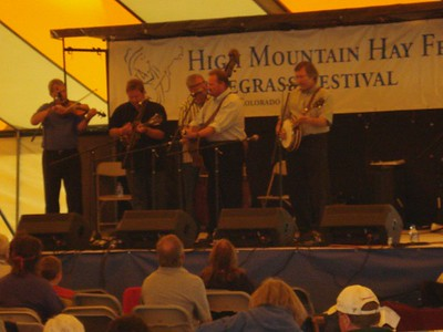 High Mountain Hay Fever Bluegrass Festival. Westcliffe, CO.