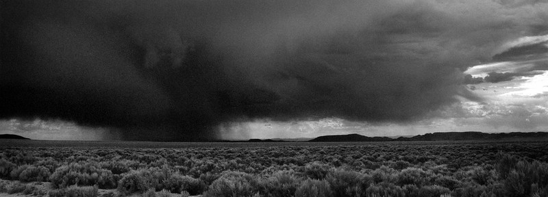 Late summer storm between Fort Garland and San Luis, CO.