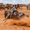 Meekatharra Rodeo 2014 - Barrel Racing