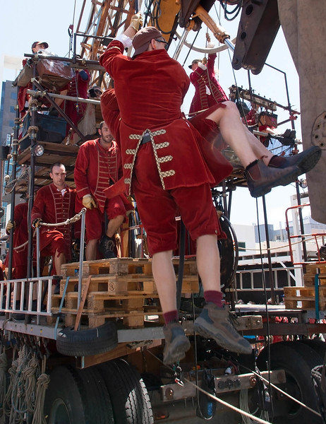 """The Giants"" as part of Festival of Perth 2015"
