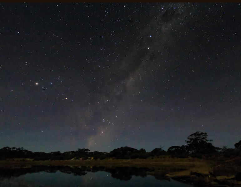Scorpius and the Milky Way rising over Karalee Dam