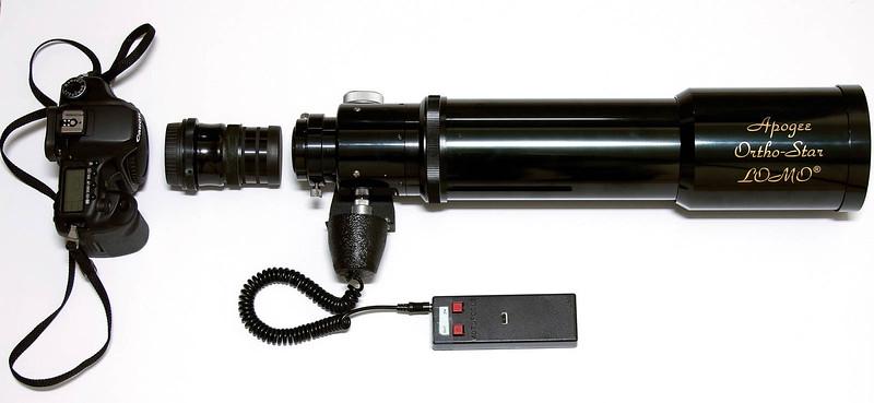 Apogee OrthoStar Lomo 80mm f/6 Apochromatic Refractor