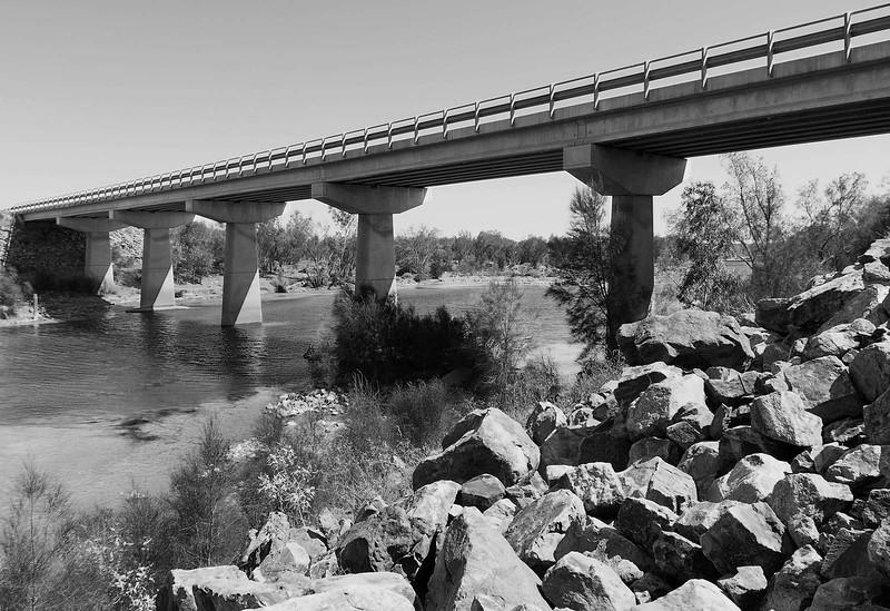 Bridge over Murchison River - North West Highway