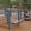Cinders on on Sheldrake Play equipment