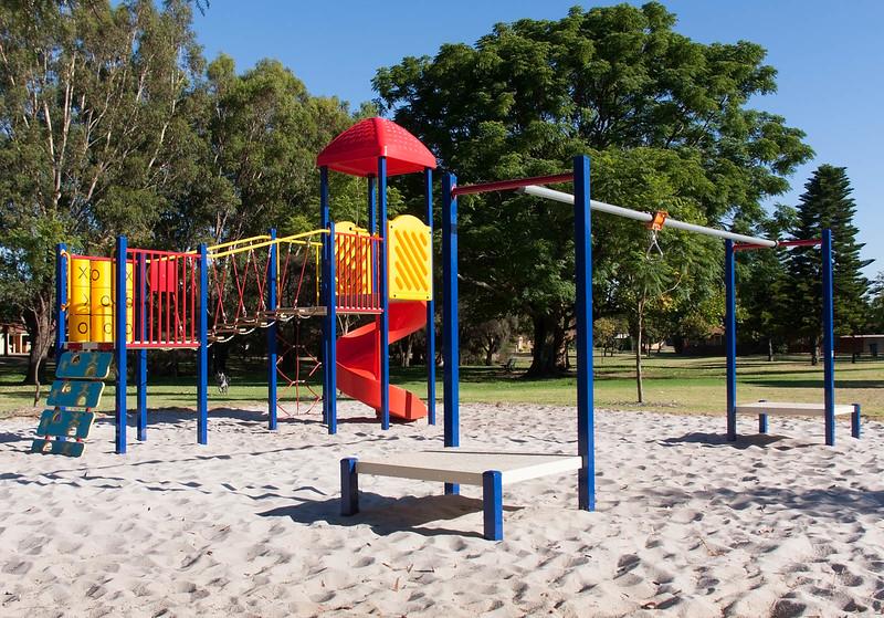 Cinders at Sheldrake Park Play equipment