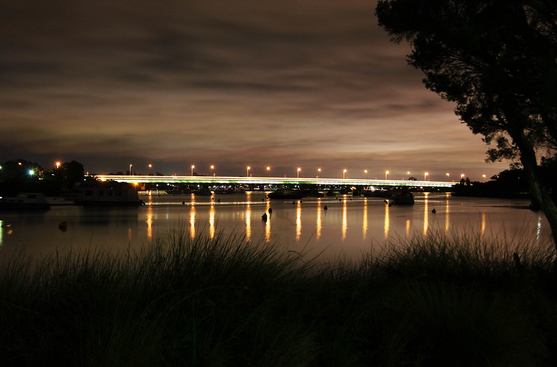 Day 18 - Mt Henry Bridge at Night