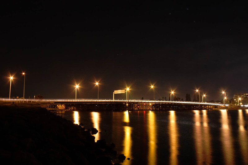 Day 19 Alternate - Canning Bridge at Night under The Southern Cross