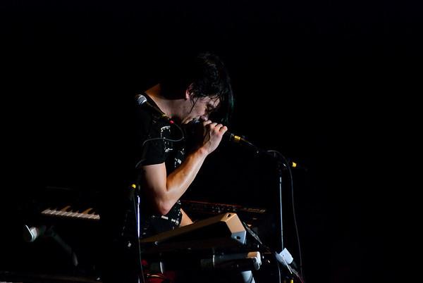Jeremy Dawson - Shiny Toy Guns  July 3, 2009.  Cornerstone Festival.