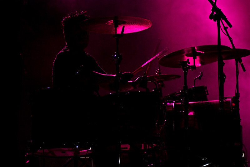 Mikey Martin - Shiny Toy Guns  July 3, 2009.  Cornerstone Festival.